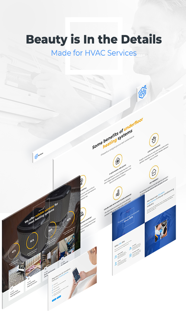 ProHauz – HVAC Services WordPress Theme - 5